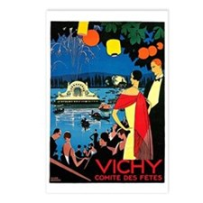 Vintage Vichy Comite des Fetes Postcards (Package