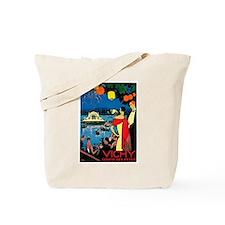 Vintage Vichy Comite des Fetes Tote Bag
