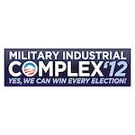 Military Industrial Complex Sticker (Bumper 50 pk)