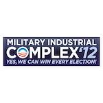 Military Industrial Complex Sticker (Bumper)