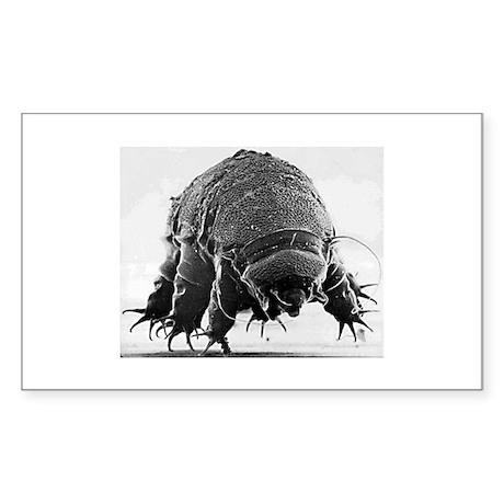 Tardigrade Rectangle Sticker