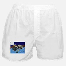 Hot Tub Pugs Boxer Shorts