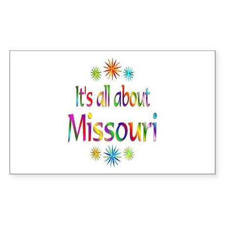 Missouri Sticker (Rectangle)