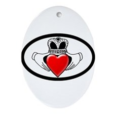 HIV Aids Awareness Ornament (Oval)