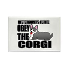 Corgi Rectangle Magnet