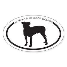 Alapaha Blue Blood Bulldog Si Bumper Stickers
