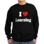 I Love Learning: Sweatshirt (dark)