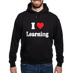 I Love Learning: Hoodie (dark)