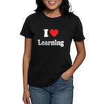 I Love Learning: Women's Dark T-Shirt