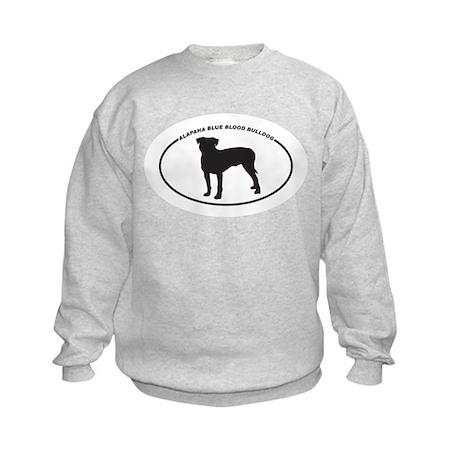 Alapaha Blue Blood Bulldog Si Kids Sweatshirt