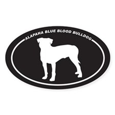 Alapaha Blue Blood Bulldog Si Decal