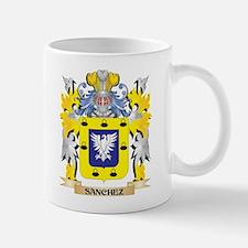 Sanchez Family Crest - Coat of Arms Mugs