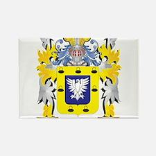 Sanchez Family Crest - Coat of Arms Magnets