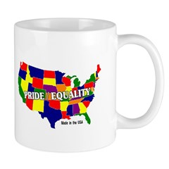 Pride/Equality -made in the U Mug