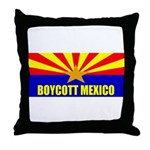 Boycott Mexico Throw Pillow