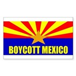 Boycott Mexico Sticker (Rectangle 50 pk)