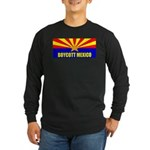 Boycott Mexico Long Sleeve Dark T-Shirt