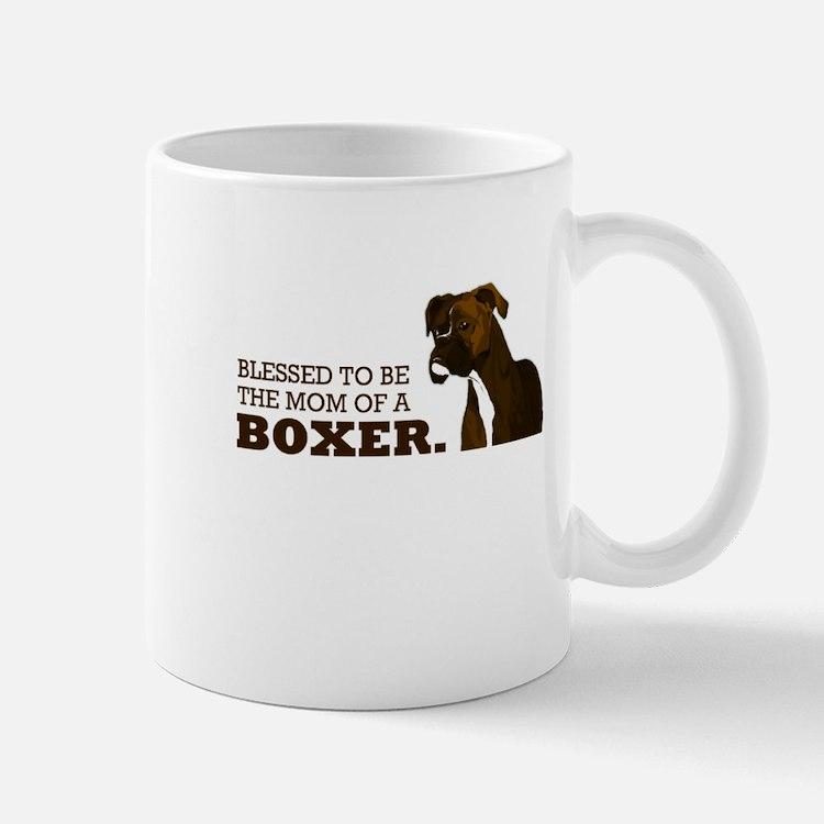 Blessed Boxer Mom Mug