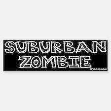 Suburban Zombie Bumper Bumper Bumper Sticker
