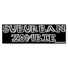 Suburban Zombie Bumper Bumper Sticker