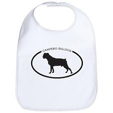 Campeiro Bulldog Silhouette Bib
