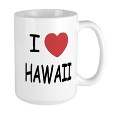 I heart Hawaii Mug