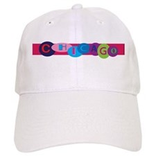 Chicago Words in Circles Baseball Cap