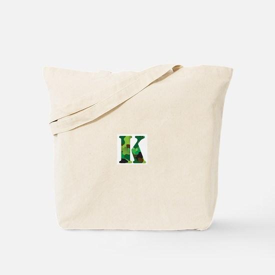 The Letter 'K' Tote Bag