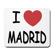 I heart Madrid Mousepad