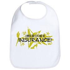 I ROCK THE S#%! - INSURANCE Bib