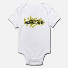 I ROCK THE S#%! - INSURANCE Infant Bodysuit