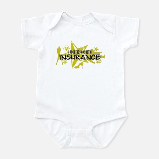 I ROCK THE S#%! - INSURANCE Infant Bodysuit