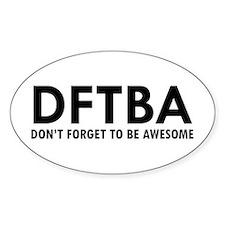 DFTBA Decal