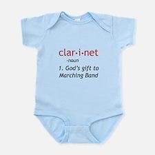 Clarinet Definition Infant Bodysuit