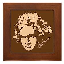 Classical Beethoven Framed Tile