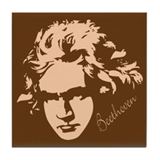 Classical Beethoven Tile Coaster