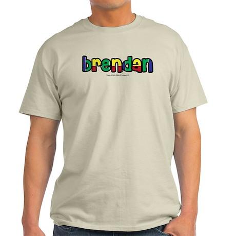 Brendan - Personalized Light T-Shirt