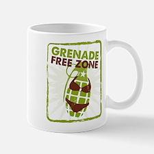 Grenade Free Zone Mugs