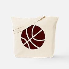 BASKETBALL *2* {crimson} Tote Bag