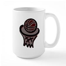BASKETBALL *3* {crimson} Mug