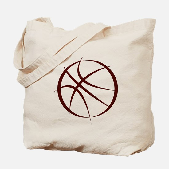 BASKETBALL *6* {crimson 4} Tote Bag