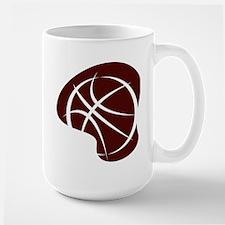 BASKETBALL *7* {crimson 2} Mug
