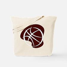 BASKETBALL *7* {crimson 2} Tote Bag