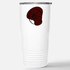 BASKETBALL *7* {crimson 3} Travel Mug