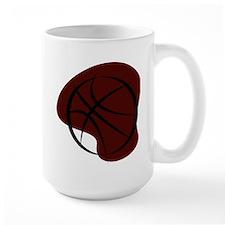 BASKETBALL *7* {crimson 3} Mug