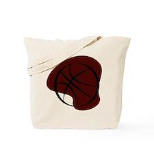 BASKETBALL *7* {crimson 3} Tote Bag