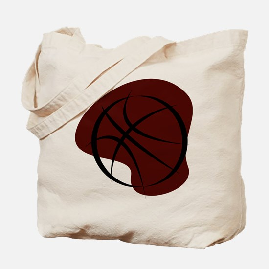 BASKETBALL *7* {crimson 3} Tote Bag