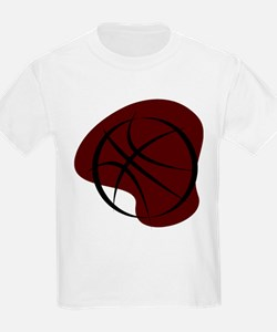BASKETBALL *7* {crimson 3} T-Shirt