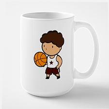 BASKETBALL *8* {crimson} Mug