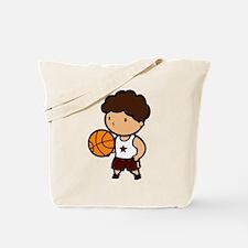 BASKETBALL *8* {crimson} Tote Bag